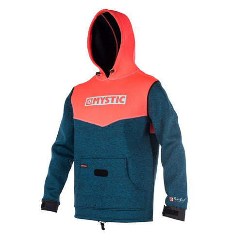 Mystic Voltage Coral Neoprene Hoodie Top - 2018