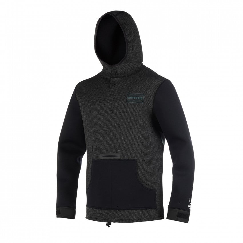 Mystic Voltage Neoprene Hoodies Sweats - 4mm - 2020 Black