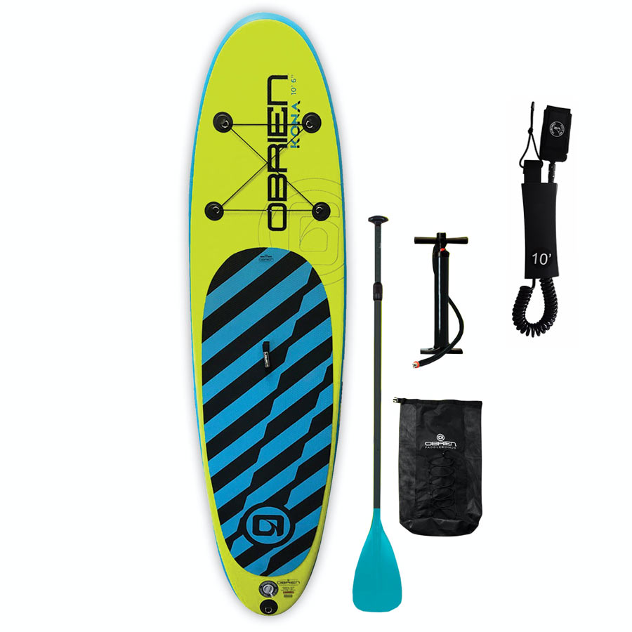 "OBrien Kona 10'0"" x 32"" x 6"" Inflatable SUP Package"