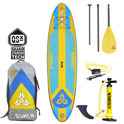 O'Shea 10'2 QSx Inflatable SUP Board 2021