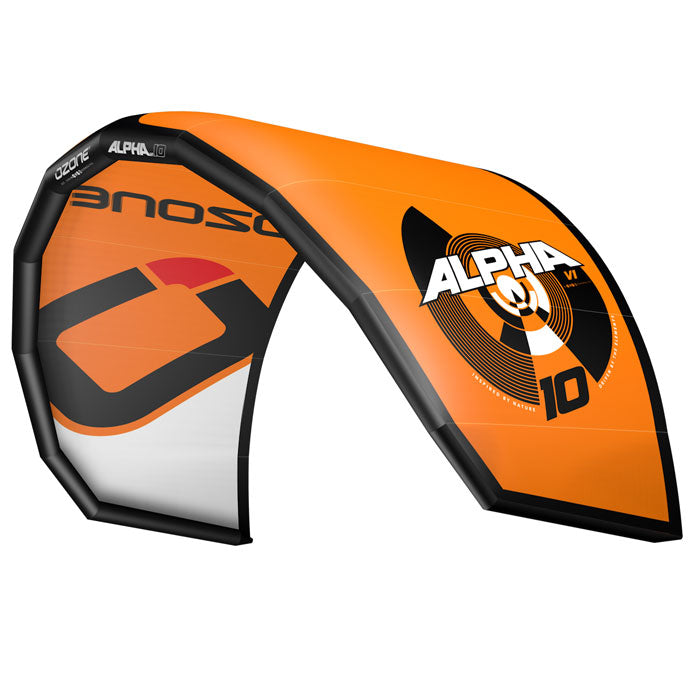 Ozone Alpha V1 Kitesurfing Kite Orange