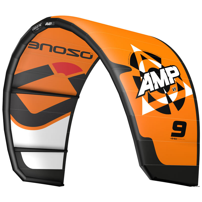 Ozone Amp V1 Kitesurfing Kite Orange