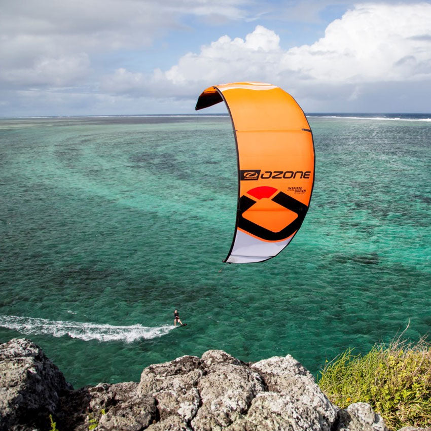 Ozone Zephyr V5 Kite Orange - Water