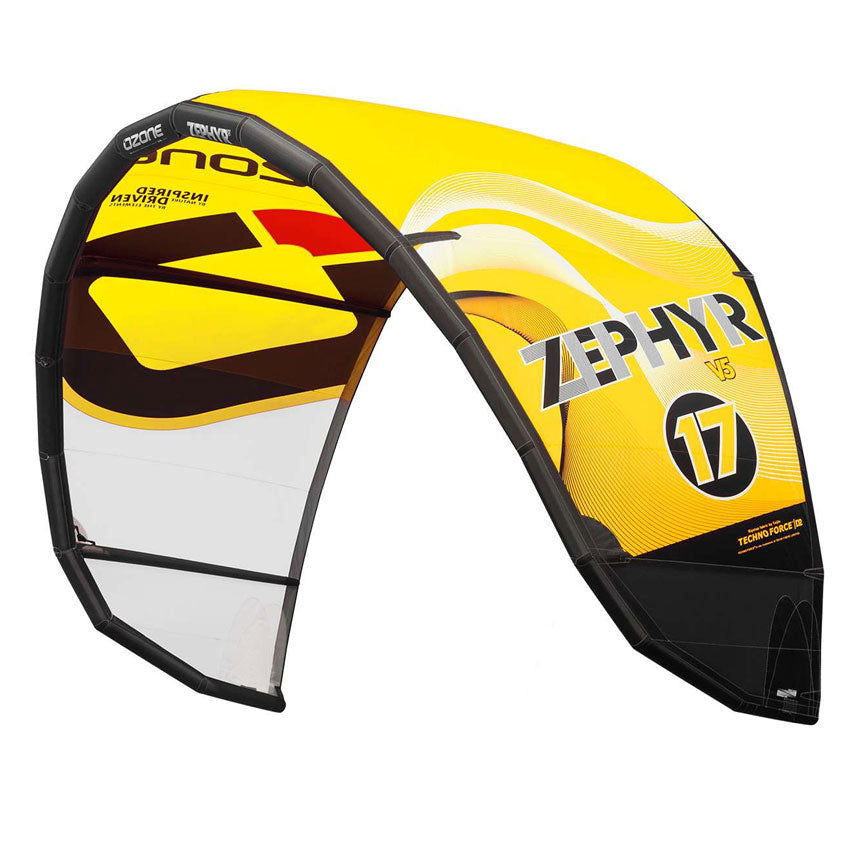 Ozone Zephyr V5 Kite Yellow