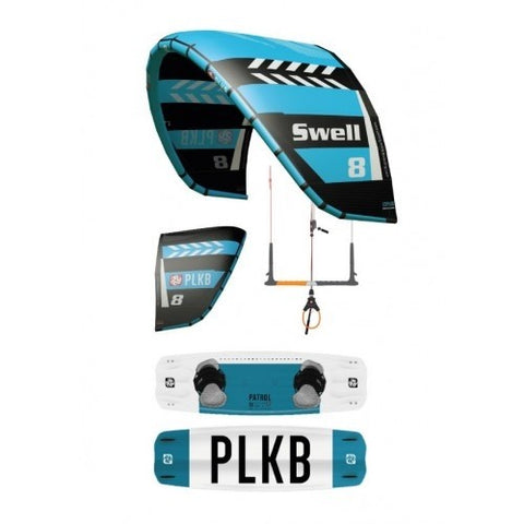 Peter Lynn Swell V4 Kite and Patrol Board - Beginner Package