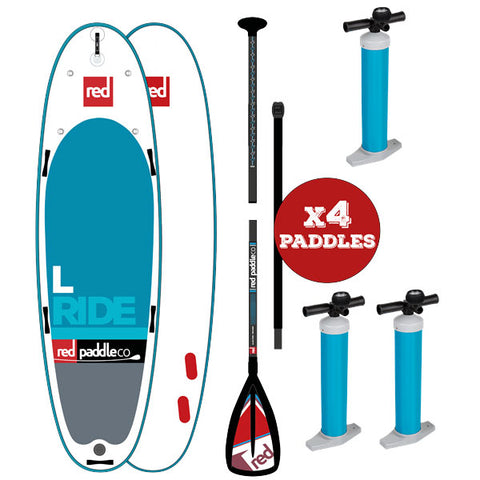 "Red Paddle Ride L 14' x 48"" - 2018 MSL - Family SUP"