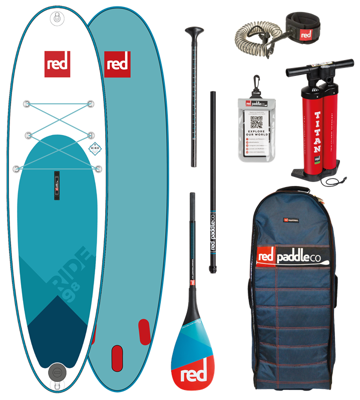 Red Paddle 9'8 Ride 2018 MSL Inflatable SUP