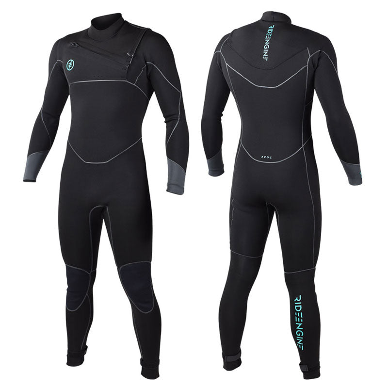 Ride Engine Apoc 5/4 Front Zip Wetsuit - 2019