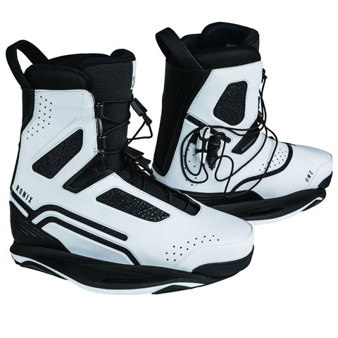 Ronix One Metallic White 2019 Wakeboard Boots