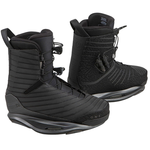 Ronix One Wakeboard Boots - 2018 - Flash Black - Titanium