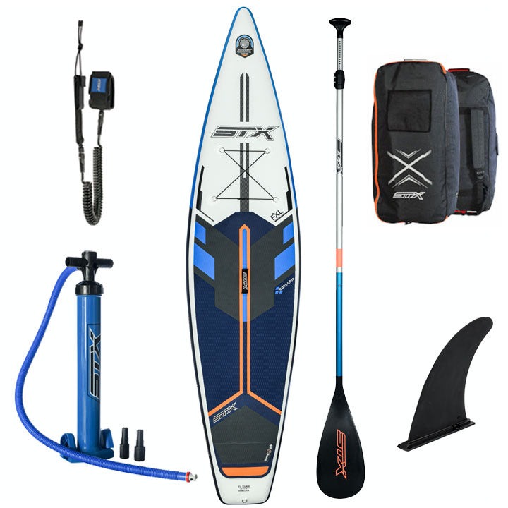 STX 11'6 Touring Inflatable SUP Board 2020 Blue