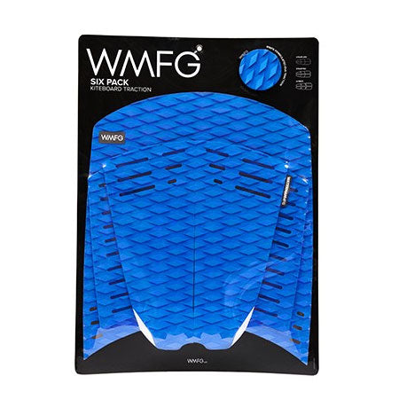 WMFG Traction Six Pack Kiteboard Surfboard Deck Pad Blue