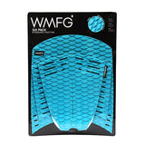 WMFG Traction Six Pack Kiteboard Surfboard Deck Pad Teal