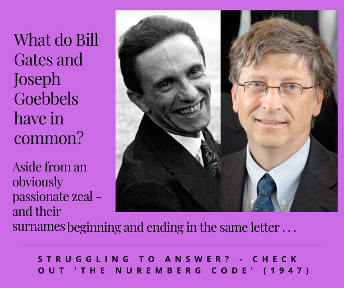 What Do Bill Gates and Joseph Goebbels Have in Common?