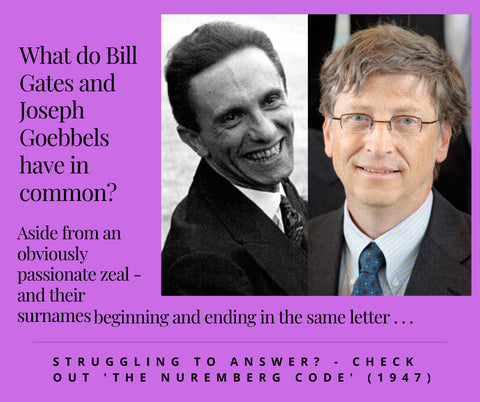 Bill Gates and Joseph Goebbels