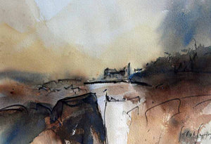 A Time That Was - Original Watercolour by Steve Slimm - Artist Steve Slimm - Online Gallery