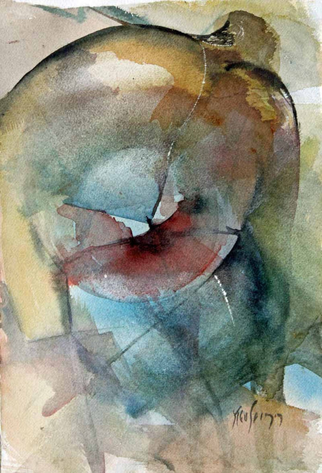 Abstract Strength - Original Watercolour by Steve Slimm - Artist Steve Slimm - Online Gallery