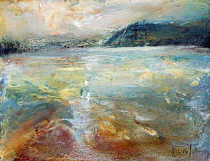 Art Print 027 by Steve Slimm - Across The Estuary from Rock - Artist Steve Slimm - Online Gallery