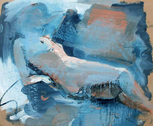 Almost Obliterated - Original Nude Painting by Steve Slimm - Artist Steve Slimm - Online Gallery