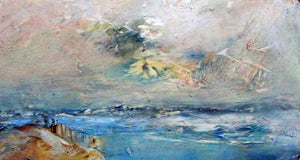 Coast Near Cudden - Original Oil Painting by Steve Slimm - Artist Steve Slimm - Online Gallery
