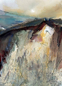 Converging Ideas - Original Watercolour by Steve Slimm - Artist Steve Slimm - Online Gallery