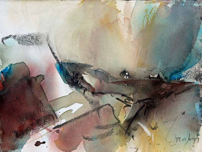 Dancing Through - Original Watercolour by Steve Slimm - Artist Steve Slimm - Online Gallery