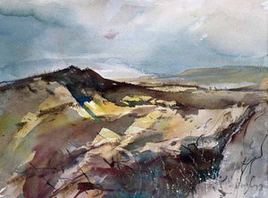 Watercolour painting by Cornish artist