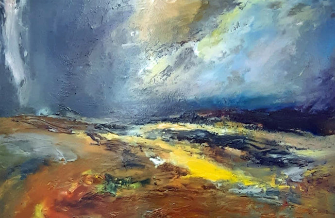 Dartmoor Last Light - Original Oil Painting by Steve Slimm - Artist Steve Slimm - Online Gallery