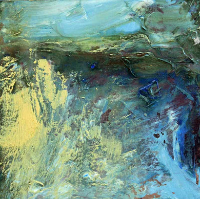 Edge Of The Deep Blue - Original Oil Painting by Steve Slimm - Artist Steve Slimm - Online Gallery