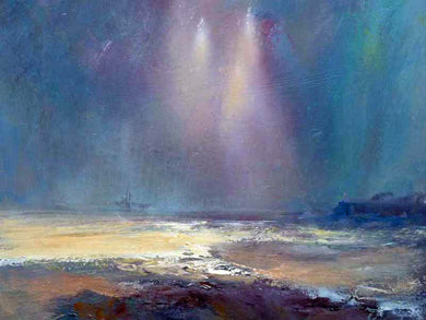 Art Print 013 by Steve Slimm - Estuary Light Near Portishead - Artist Steve Slimm - Online Gallery