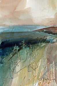 From the Top of the Hill - Original Watercolour by Steve Slimm - Artist Steve Slimm - Online Gallery