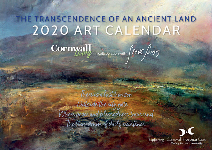 Art Calendar 2020 - Artist Steve Slimm in Collaboration with Cornwall Living Magazine