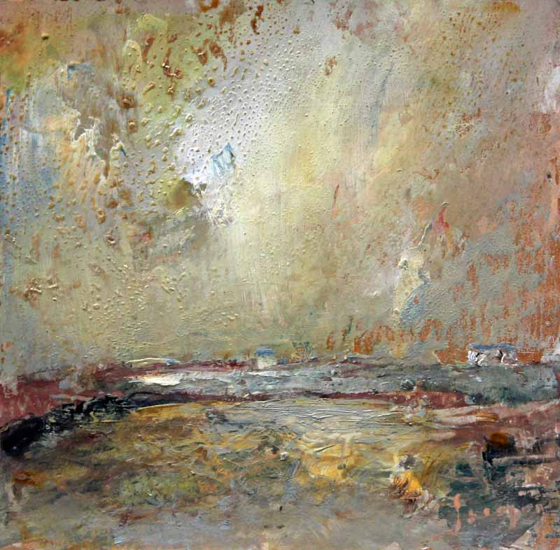 Icy Morning - Warm Day: Original Oil Painting by Steve Slimm - Artist Steve Slimm - Online Gallery