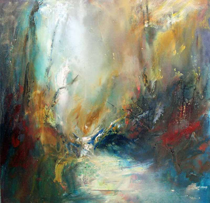 Liquid Woodland Light - Original Oil Painting by Steve Slimm - Artist Steve Slimm - Online Gallery