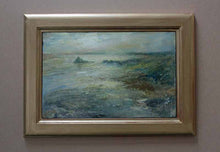 Original Oil Painting by Steve Slimm - Overview - Prussia Cove Awash with Golden Light - Artist Steve Slimm - Online Gallery