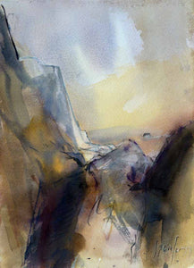 Quality of Coastal Light - Original Watercolour by Steve Slimm - Artist Steve Slimm - Online Gallery