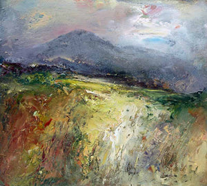 Rough Tor Late Evening - Original Oil Painting by Steve Slimm - Artist Steve Slimm - Online Gallery