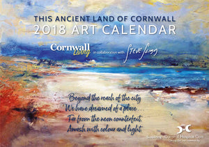 Art Calendar 2018 - Artist Steve Slimm in Collaboration with Cornwall Living Magazine