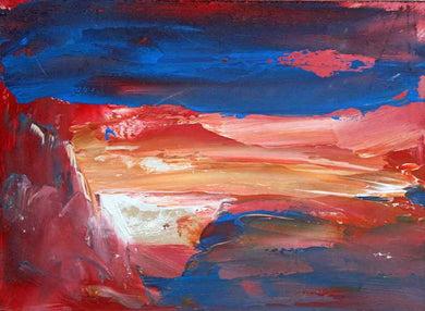 The Rich Red Land - Original Oil Painting by Steve Slimm - Artist Steve Slimm - Online Gallery