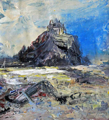Original Oil Painting by Steve Slimm - Strength Of A Fortress - Artist Steve Slimm - Online Gallery