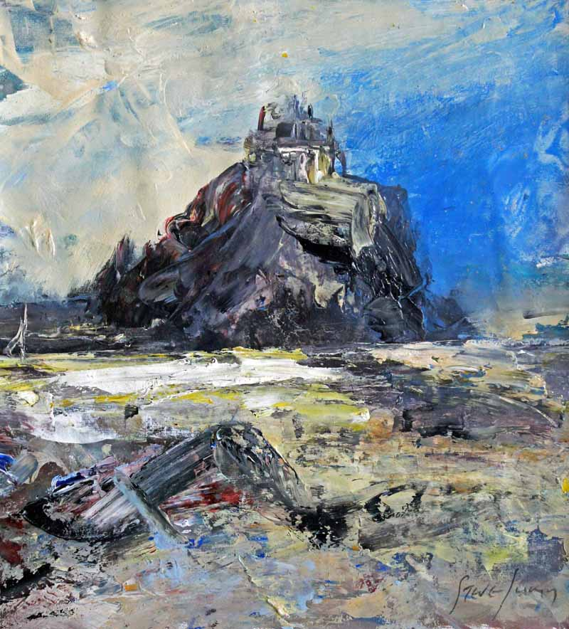 Oil Painting by Steve Slimm - Strength Of A Fortress - Artist Steve Slimm - Online Gallery