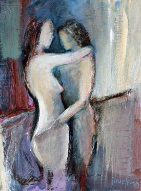 Whole As I Am - Original Nude Oil Painting by Steve Slimm - Artist Steve Slimm - Online Gallery