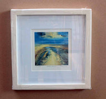 Framed Art Print by Steve Slimm - Yellow Beach - Artist Steve Slimm - Online Gallery