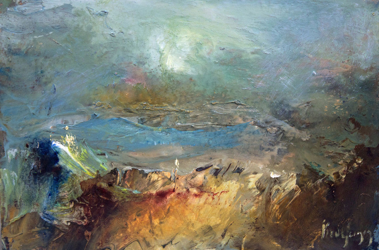 Landscape Expressionism: Semi-Abstract Art: Cornish Artist ...