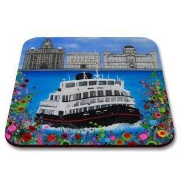Liverpool Flower Coasters - Three Graces