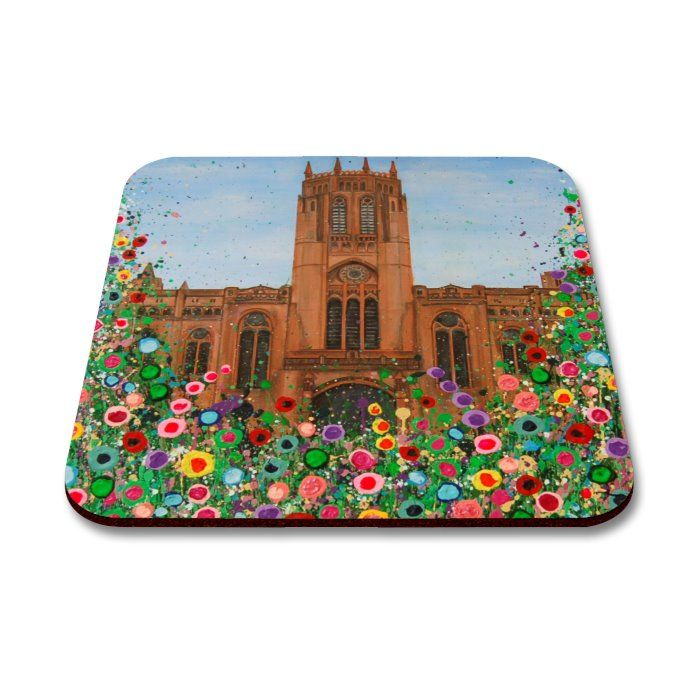 Liverpool Flower Coasters - Anglican Cathedral