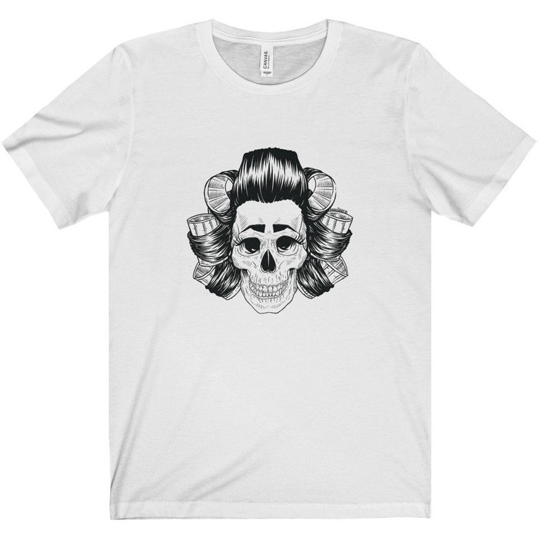 Scouse Bird Skull T-shirt