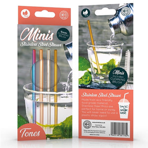Mini Stainless Steel Straws