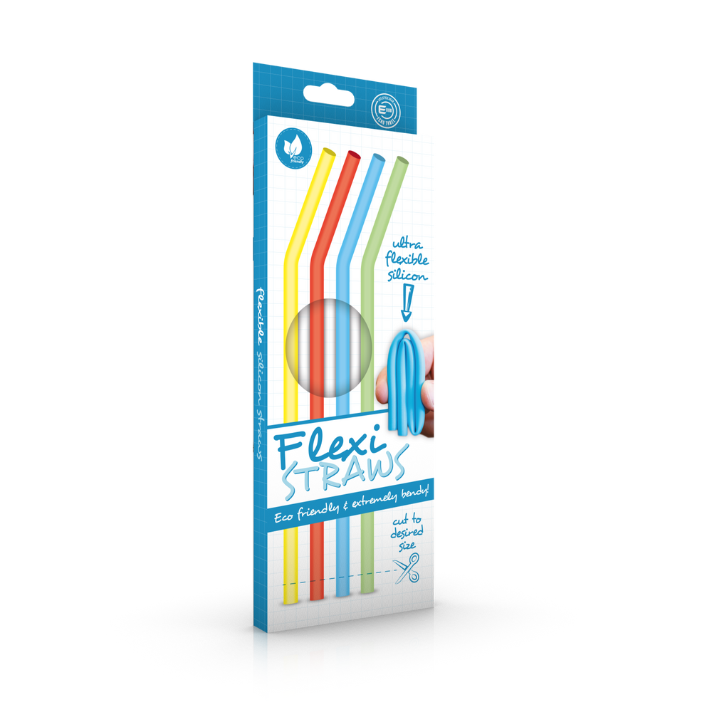 Flexible Silicone Reusable Straws
