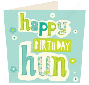 Load image into Gallery viewer, Happy Birthday Hun Birthday Card